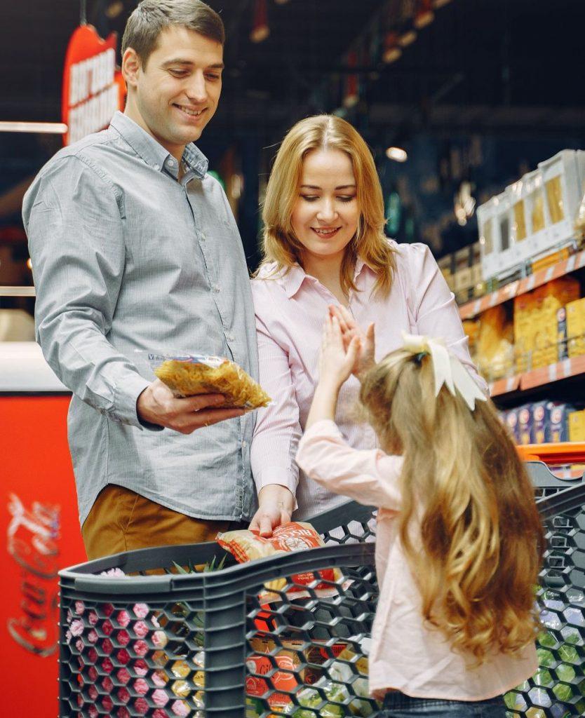 courses supermarché avec emrys la carte